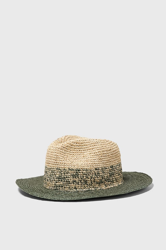 897b8c5939be6 TWO-TONE TEXTURED WEAVE HAT