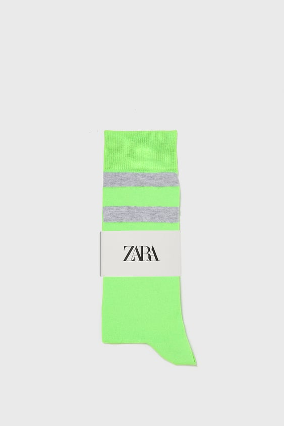 a109331ccdd CHAUSSETTES FLUO - NEON-SHOP BY COLLECTION-HOMME