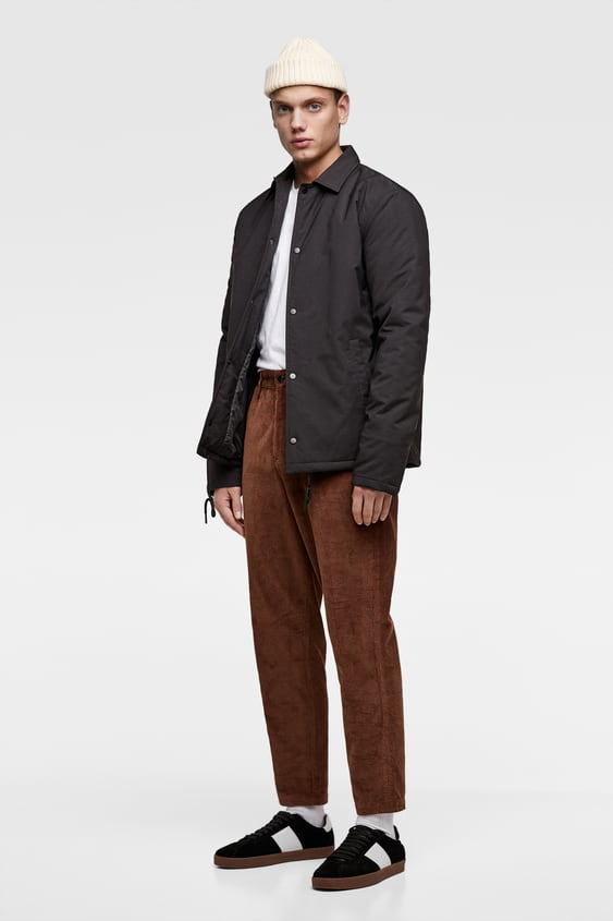Quilted Coach Jacket  Jacketsman New Collection by Zara