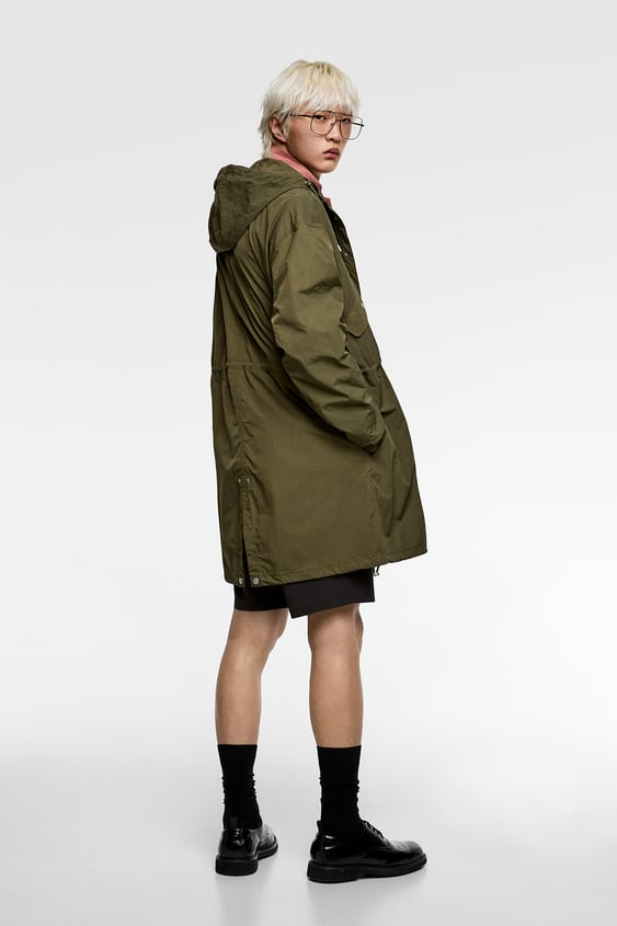e661f85af9355 LIGHTWEIGHT HOODED PARKA - Available in more colours