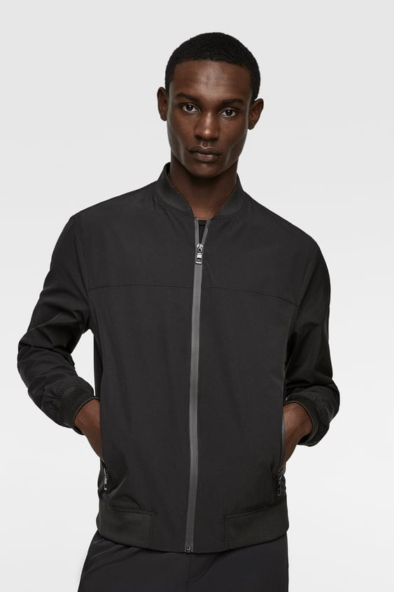 Men S Bomber Jackets New Collection Online Zara United States