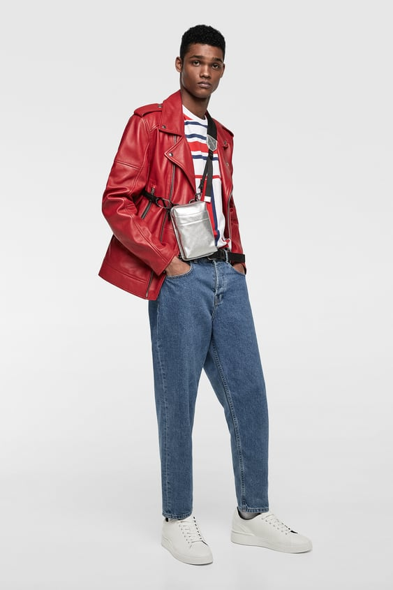Contrasting Stripes Top  View All Jackets Man by Zara