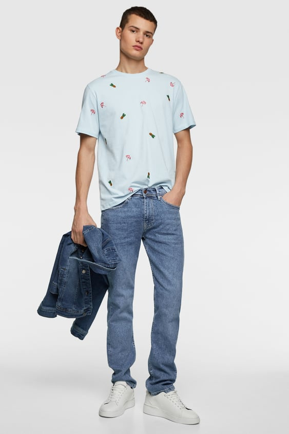 dc3ba625e412 Men's Printed T-shirts | Online Sale | ZARA Canada