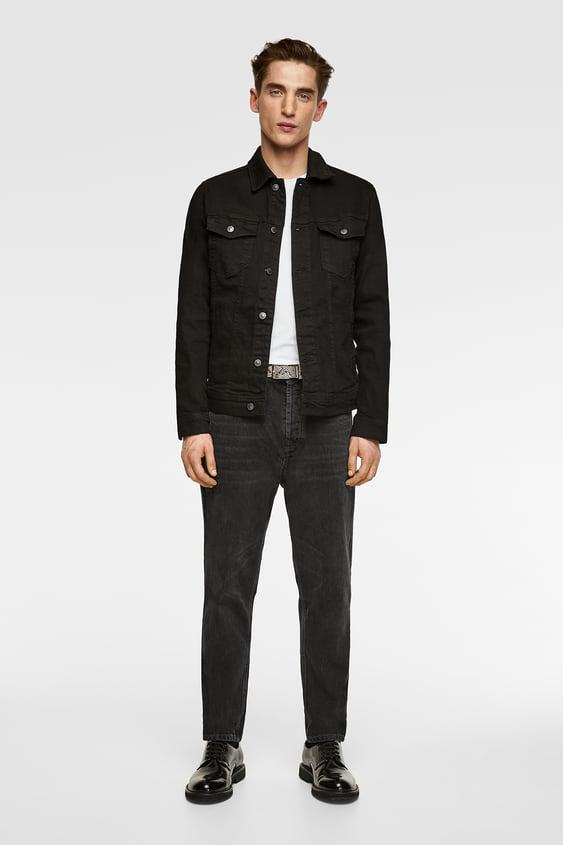 Basic Denim Jacket Denim Jackets Man by Zara