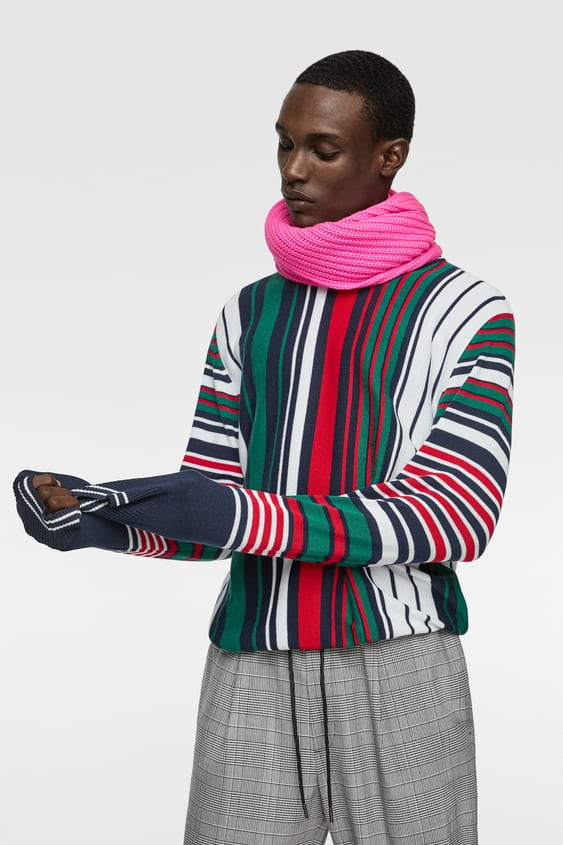 Mens Knitwear New Collection Online Zara Canada