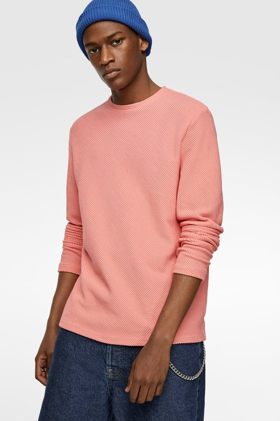 WAFFLE KNIT SWEATER - Item available in more colors 0ec57e5e4
