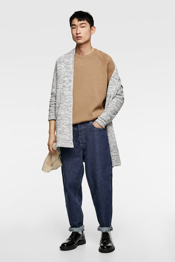 Textured Cardigan  View All Knitwear Man by Zara
