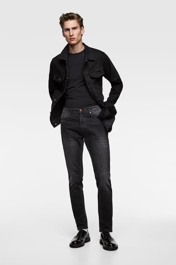 c4a43cab3f Men's Slim Fit Jeans | Online Sale | ZARA Dominican Republic