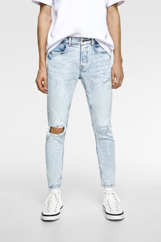 fcd9341cd4424 RIPPED JEANS - Item available in more colors