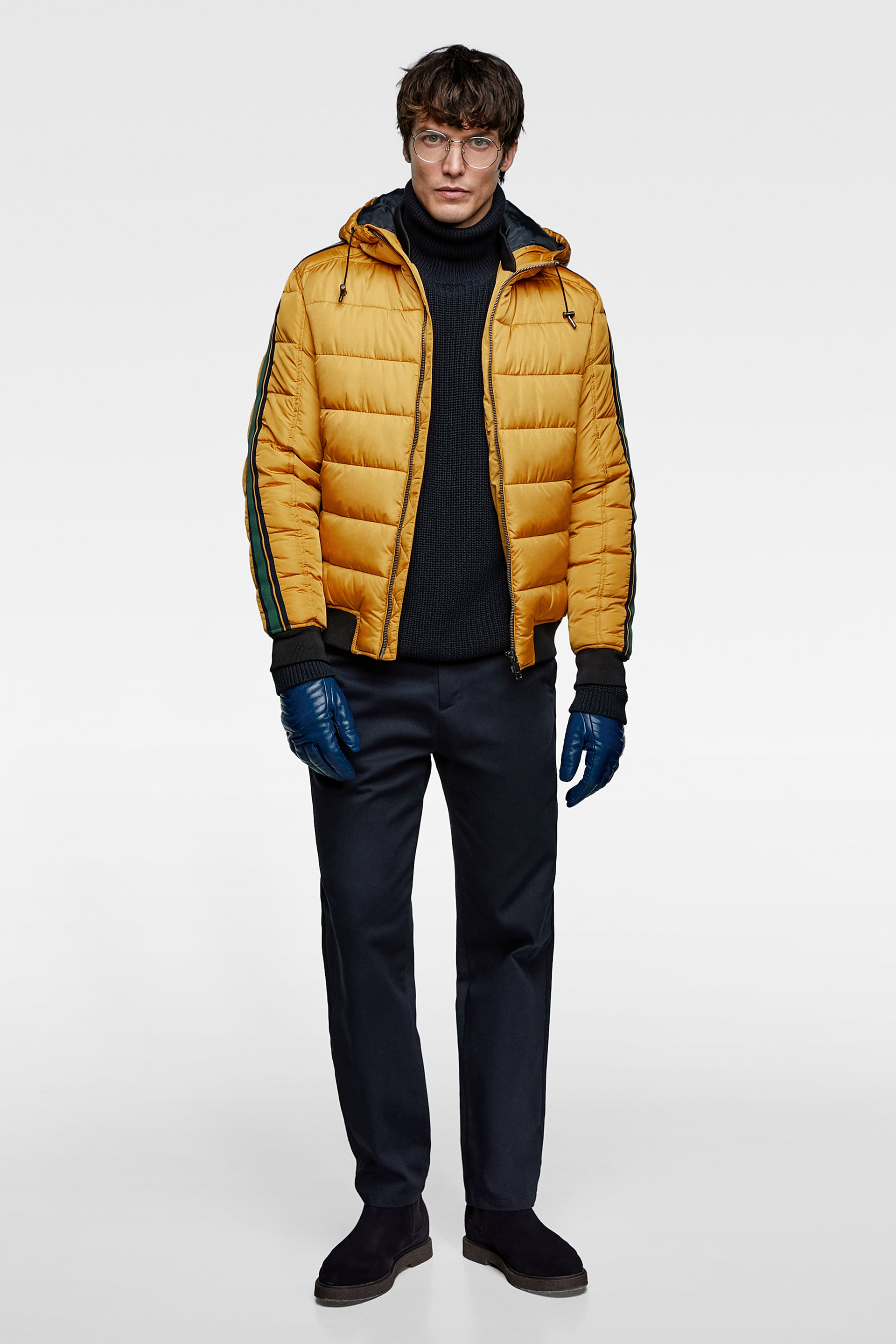 7432a75d WATER - REPELLENT PUFFER JACKET-Collection-ALL TIME-MAN-CORNER SHOPS ...