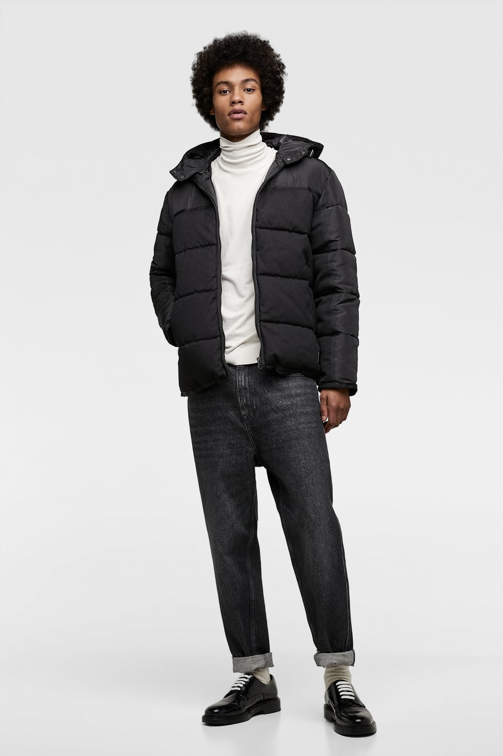 23032c4c CONTRAST QUILTED JACKET-Puffers-JACKETS-MAN-SALE | ZARA United Kingdom