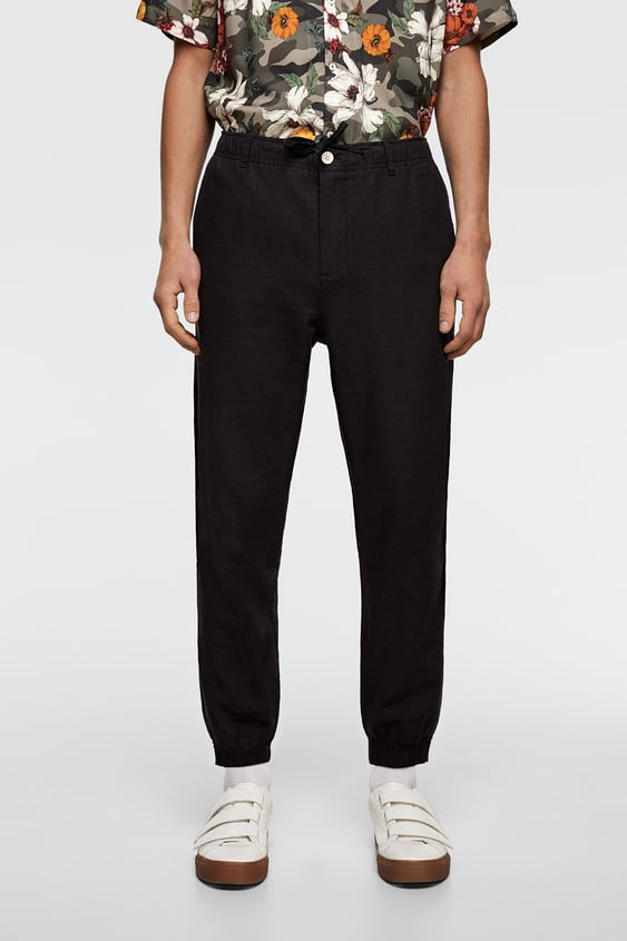 f886931544a5 FLOWY JOGGING PANTS - Item available in more colors