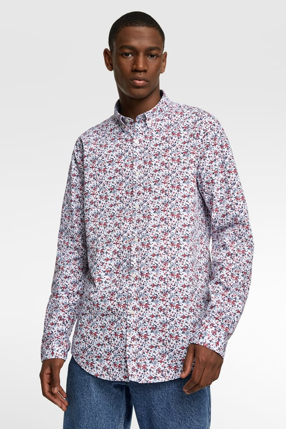 384e51f7a11e FLORAL PRINT SHIRT - Item available in more colors
