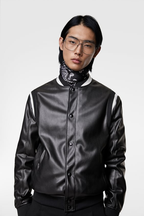 b92629a250 Men's Faux Leather Jackets | Online Sale | ZARA United States