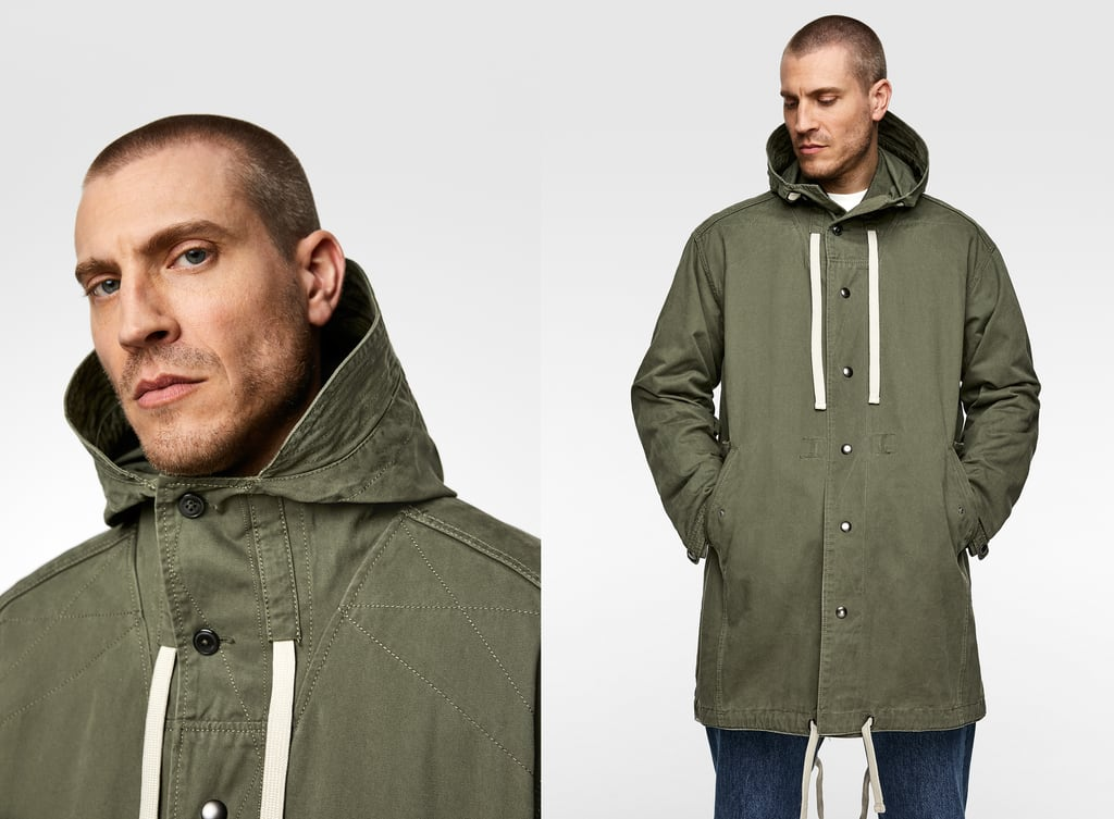 d07d273d66f PARKA WITH CONTRAST INTERIOR