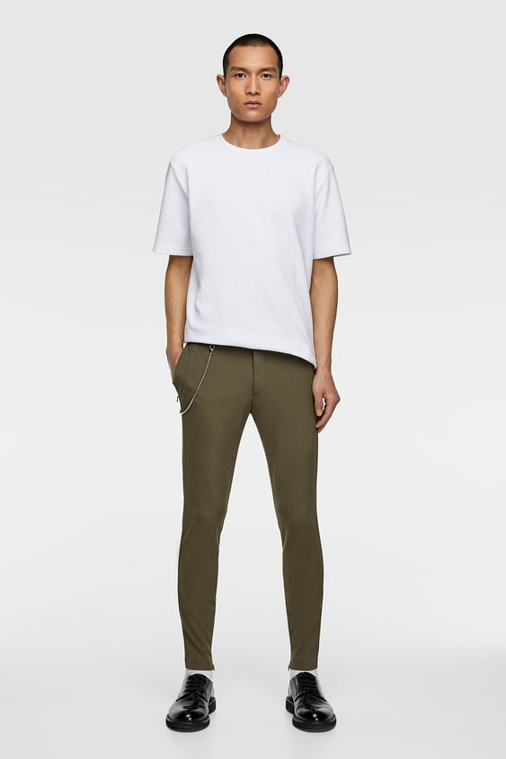 Super Skinny Pants  New Inman by Zara
