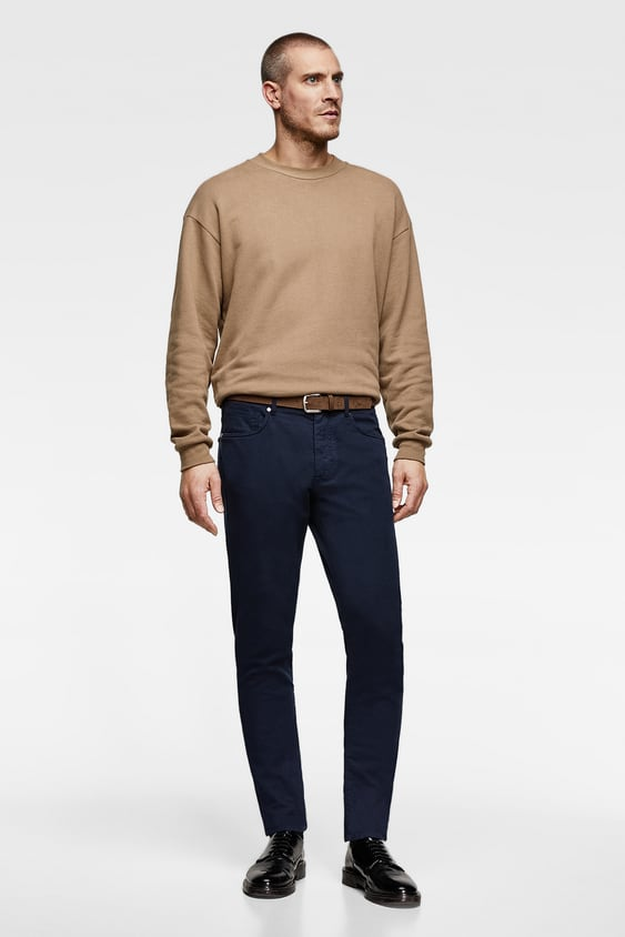 Belted Chino Pants Chinos Pants Man by Zara
