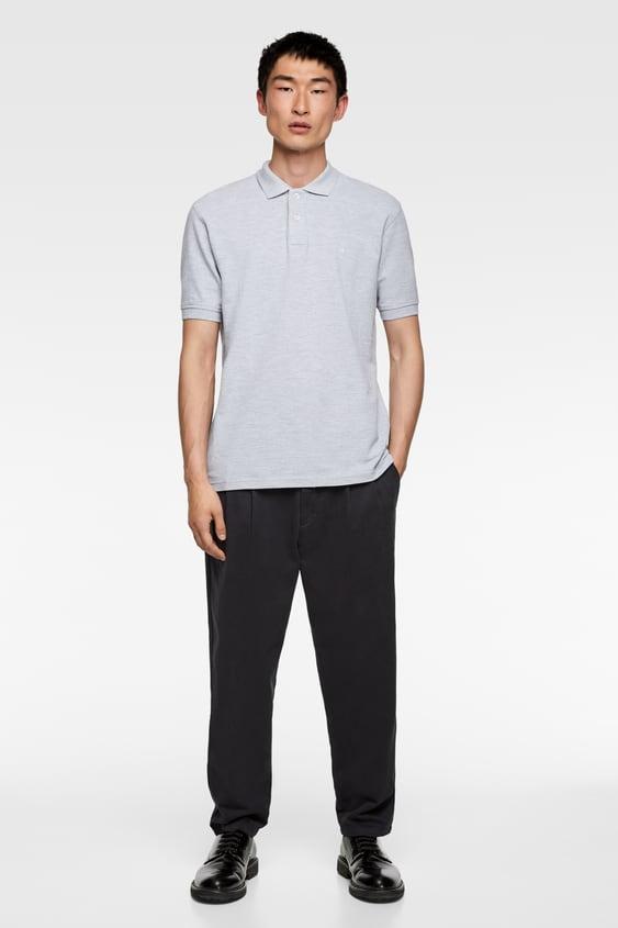 5b69788e4 Men's Polo Shirts | New Collection Online | ZARA United Kingdom