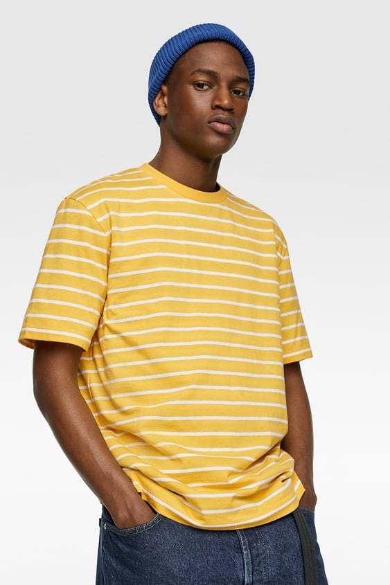 75247885 BASIC STRIPED T-SHIRT - Available in more colours