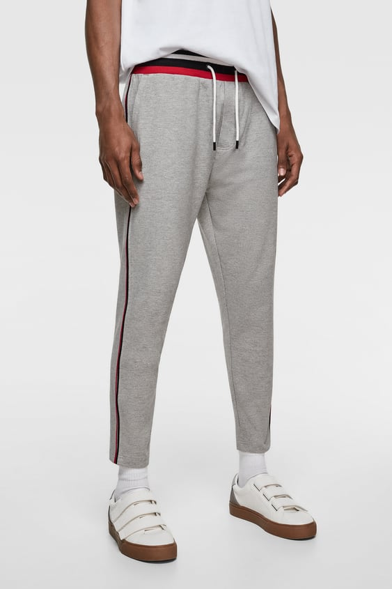 12066fb2bd JOGGING TROUSERS WITH STRIPES - Available in more colours