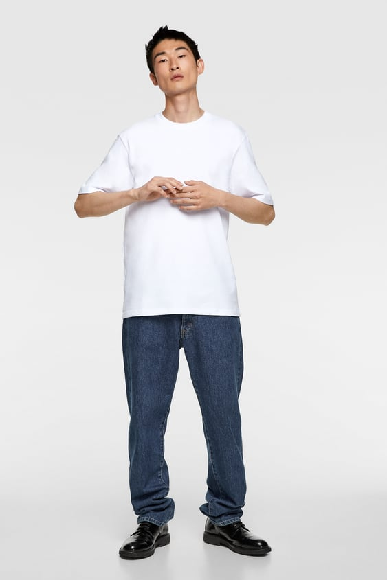 official images cheap price footwear Men's T-shirts | New Collection Online | ZARA United Kingdom