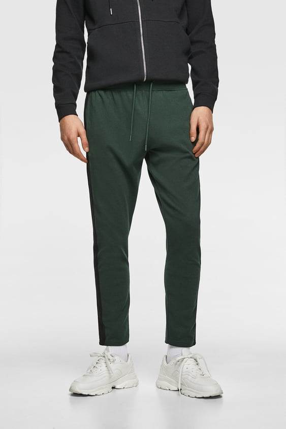 36623416b3177 JOGGING TROUSERS WITH SIDE STRIPES - Available in more colours