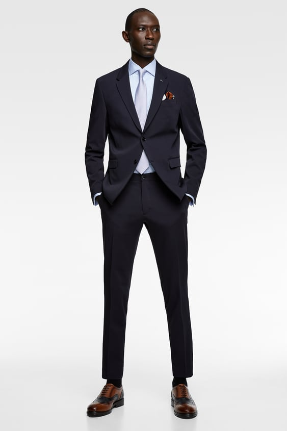 2401b7bf TRAVELER SUIT PANTS - SPECIAL EVENTS-SHOP BY COLLECTION-MAN | ZARA ...