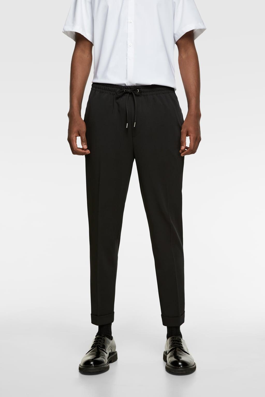 Spijker Joggingbroek Heren.Heren Broeken Nieuwe Collectie Online Zara Nederland