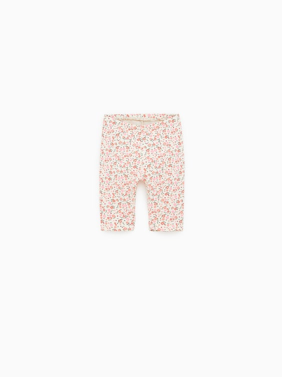 dd8e4fde197a2 PRINTED CROPPED LEGGINGS - View All-BASICS-BABY GIRL | 3 mth - 5 yrs ...