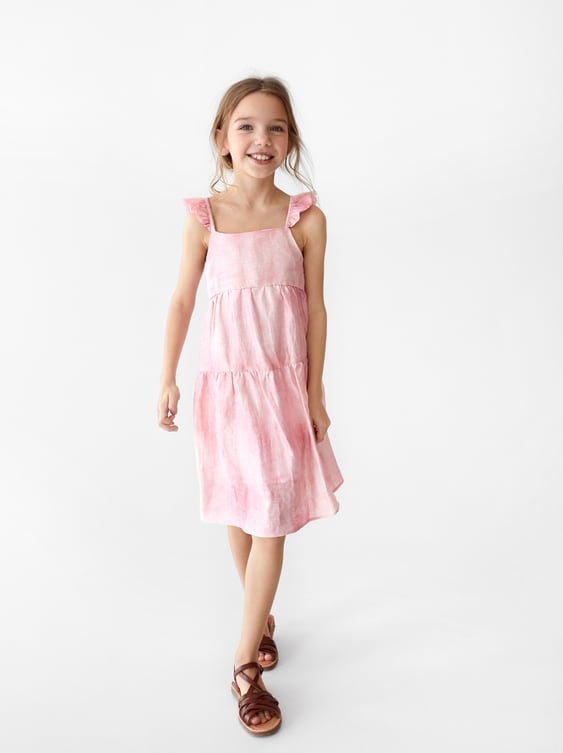 2b0a1344deac RUFFLED TIE DYE DRESS - SPECIAL OCCASION-GIRL