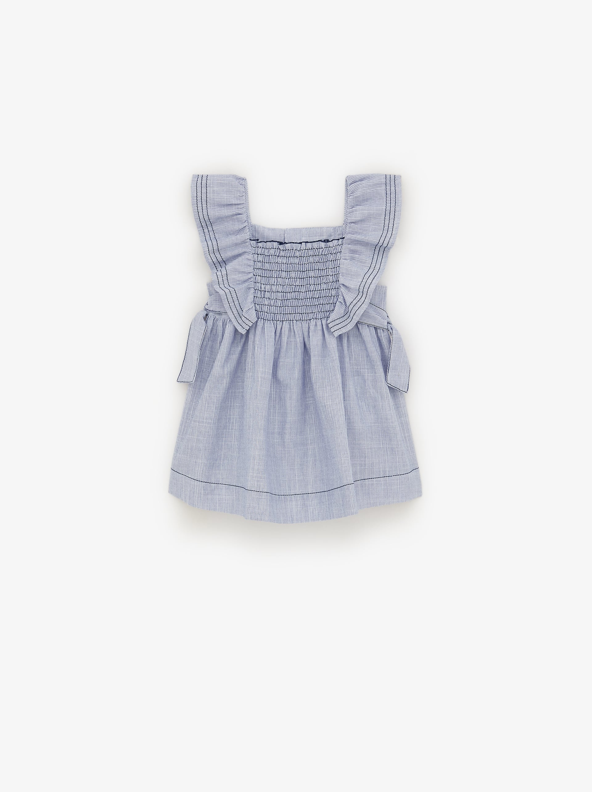 8cd3a0b89 RUFFLED DRESS - View All-DRESSES AND JUMPSUITS-BABY GIRL | 3 mth - 5 ...