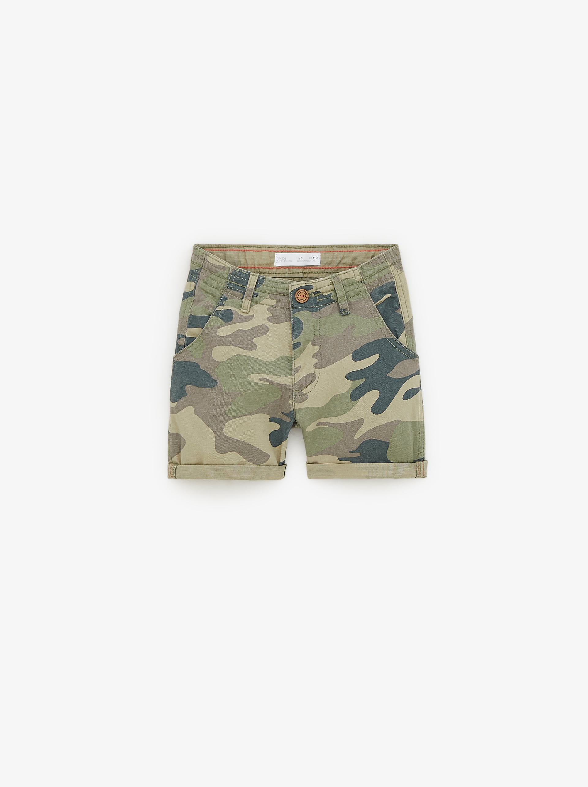 1307432fbd CAMOUFLAGE BERMUDA SHORTS - TROUSERS AND SHORTS-BOY | 5 - 14 yrs ...