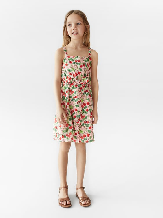 eb6a4862577 PRINTED DRESS - View All-DRESSES AND JUMPSUITS-GIRL | 5-14 yrs-KIDS ...