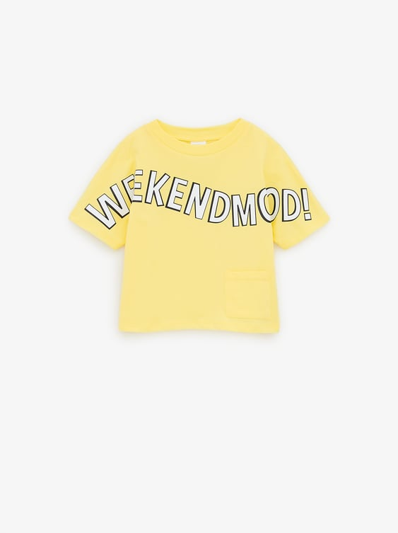 58021cef793c5 Image 1 of WEEKEND T-SHIRT from Zara