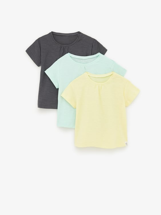 81abe03e511 THREE-PACK OF BASIC SHIRTS - Item available in more colors