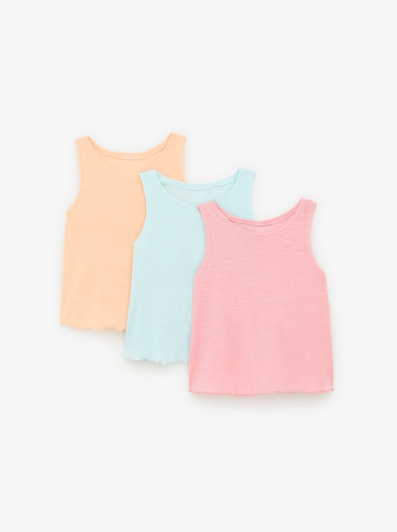 58518f53d9e THREE-PACK OF BASIC SHIRTS - Item available in more colors