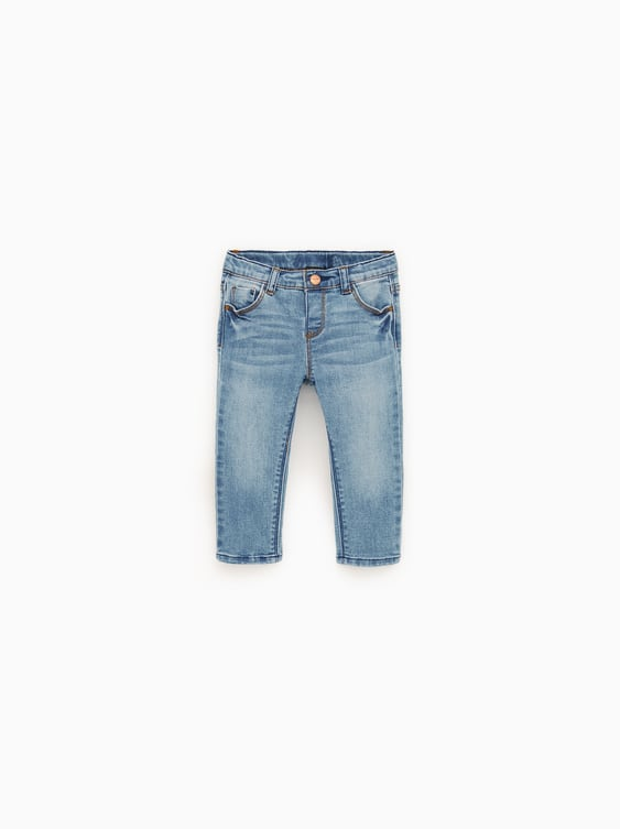 Basic Jeans  New Inbaby Girl by Zara