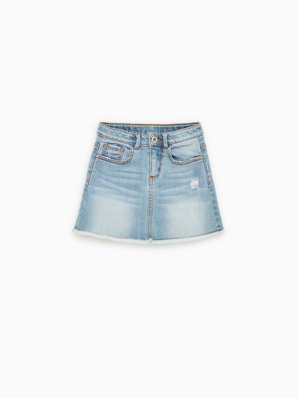 a236203d5 BASIC DENIM SKIRT-SKIRTS AND SHORTS-GIRL | 6 - 14 years-KIDS-NEW ...