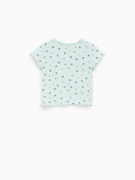 9dffa3e3817c32 FLORAL T - SHIRT-View All-T-SHIRTS-BABY GIRL | 3 months - 5 years ...