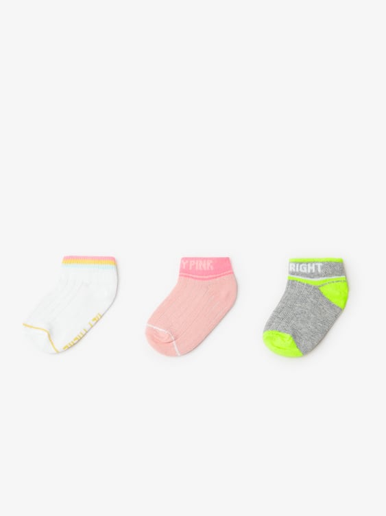 900a5f7f78be3 THREE - PACK OF PRINTED SHORT SOCKS-Socks & Tights-ACCESSORIES-BABY ...