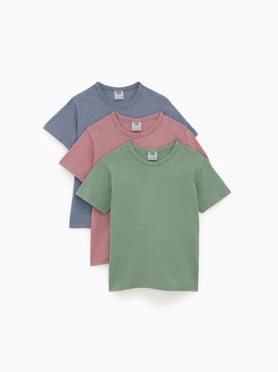 e1fe751bc3a 3-PACK OF GARMENT-DYED T-SHIRTS
