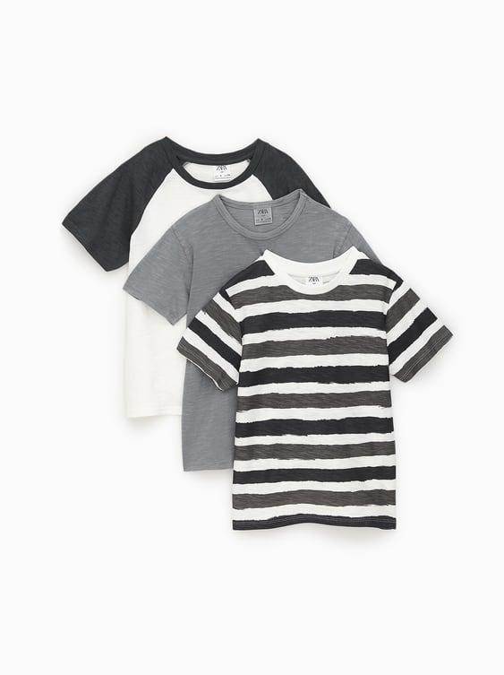 886d4704c 3-PACK OF ASSORTED T-SHIRTS