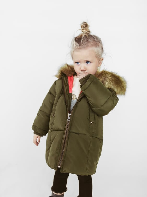a4380c3f140c PUFFER JACKET WITH INTERIOR ELASTIC - COATS AND JACKETS-BABY GIRL ...