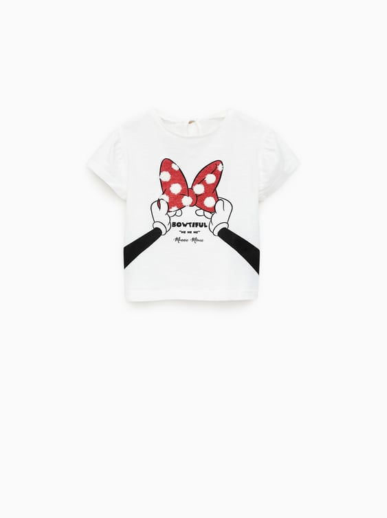 c576d132e CAMISETA ©MINNIE MOUSE BRILLO - Estampadas-CAMISETAS-BEBE NIÑA