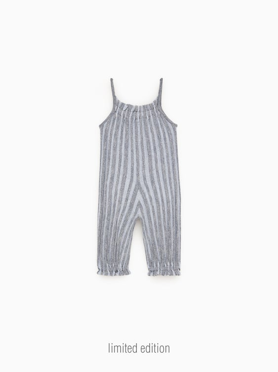 2ee36278cbb STRIPED KNIT OVERALLS