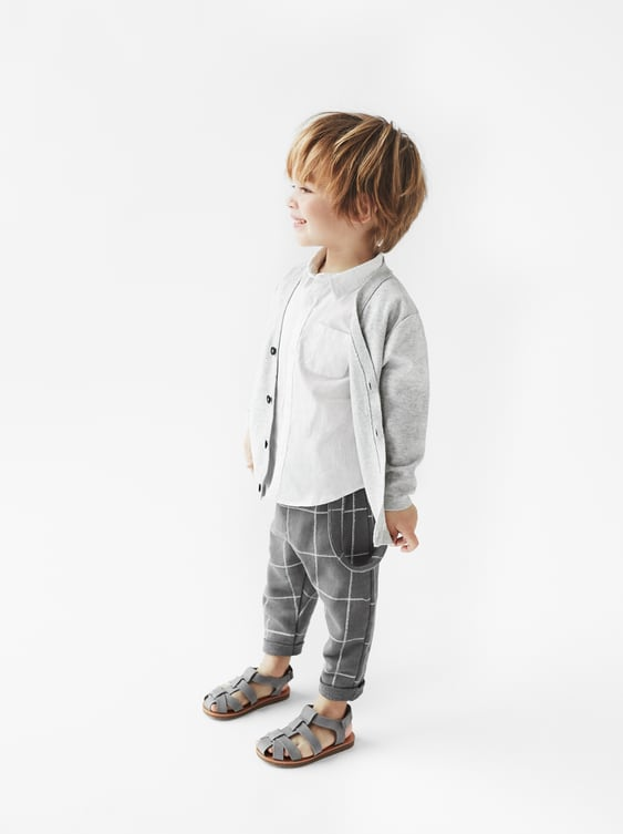 eda016005b CHECKED TROUSERS WITH SUSPENDERS