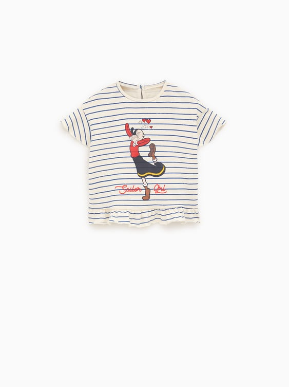 OLIVE OYL TOP - View All-T-SHIRTS AND BODYSUITS-BABY GIRL  4c64b10ddbd9a