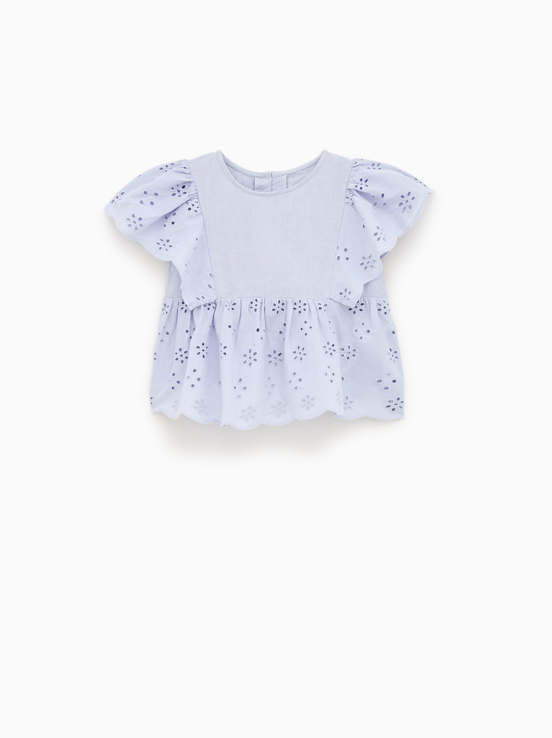 c73b0c32 BLOUSE WITH SWISS EMBROIDERY - SPECIAL OCCASION-SHOP BY COLLECTION ...