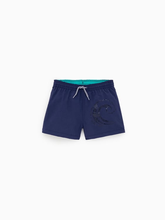 aff09b67c3 PRINTED SWIM BERMUDA SHORTS - Available in more colours