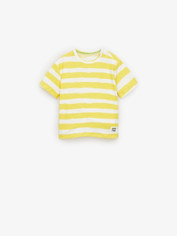 f0a144066aea Image 1 of STRIPED TOP from Zara